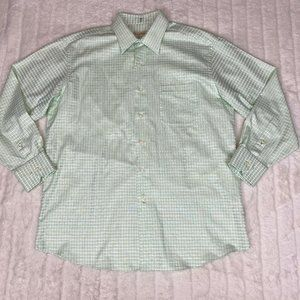 Tommy Bahama Green Plaid Button Down